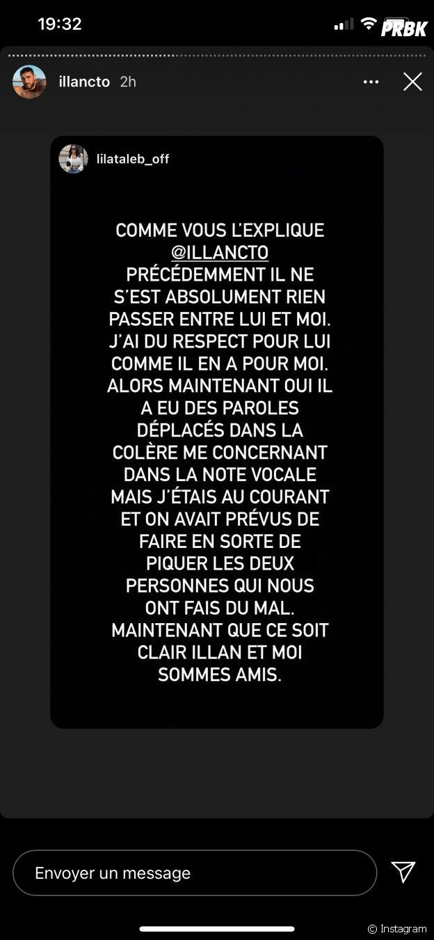 Illan (Les Marseillais VS Le reste du monde 5) et Lila Taleb (Les Princes de l'amour 8) ne sont pas en couple