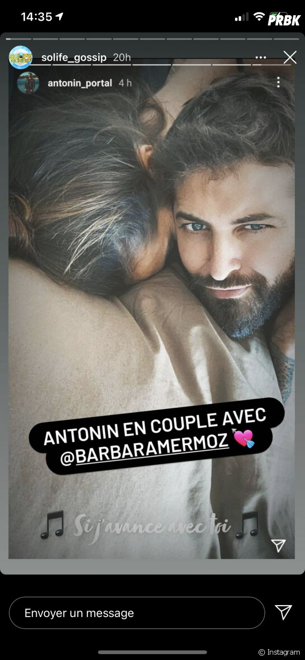 Barbara Mermoz en couple avec Antonin Portal ?