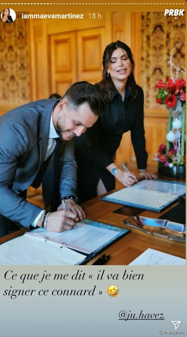Maeva Martinez mariée à Ju Havez : elle dévoile des photos de son mariage