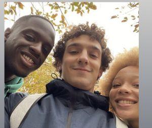 Skam France saison 7 : Paul Scarfoglio (Basile) avec Daouda Keita et Lisa Docouto