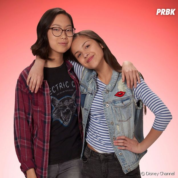 Olivia Rodrigo et Madison Hu dans Frankie et Paige