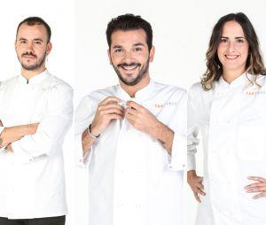 Top Chef 2021 : la brigade de Paul Pairet avec Baptiste Trudel, Pierre Chomet et Pauline Séné