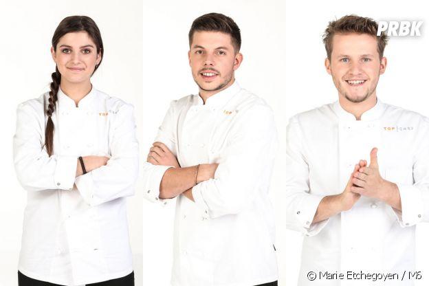 Top Chef 2021 : la brigade de Philippe Etchebest avec Charline Stengel, Matthias Marc et Mathieu Vande Velde