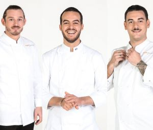 Top Chef 2021 : la brigade de Michel Sarran avec Thomas Chisholm, Bruno Aubin et Arnaud Baptiste