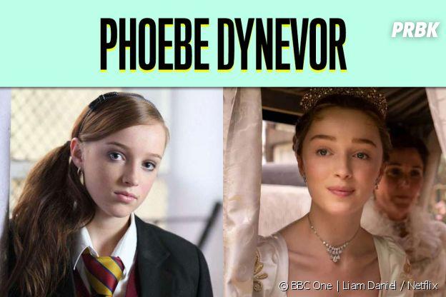 Phoebe Dynevor dans son premier rôle vs dans La Chronique des Bridgerton