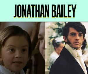Jonathan Bailey dans son premier rôle vs dans La Chronique des Bridgerton