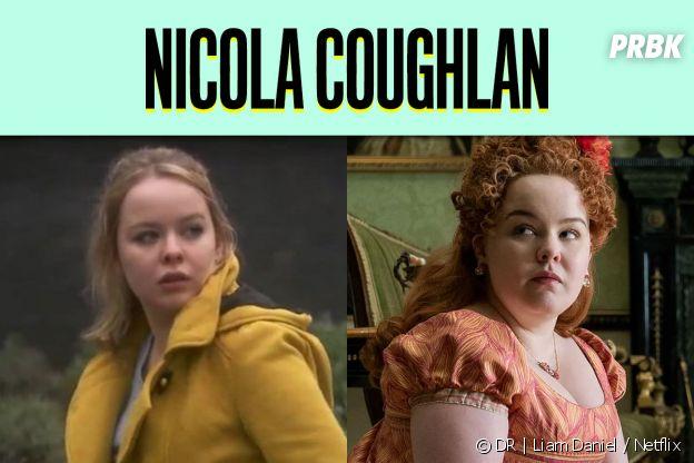 Nicola Coughlan dans son premier rôle vs dans La Chronique des Bridgerton