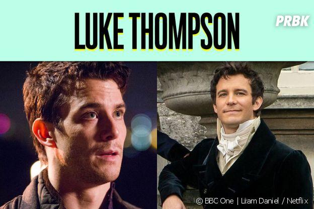 Luke Thompson dans son premier rôle vs dans La Chronique des Bridgerton