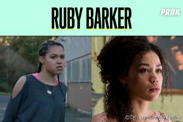 Ruby Barker dans son premier rôle vs dans La Chronique des Bridgerton