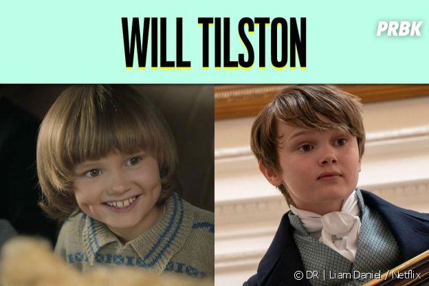 Will Tilston dans son premier rôle vs dans La Chronique des Bridgerton
