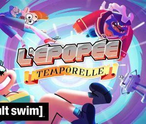 L'Epopée Temporelle : Cyprien crée une série d'animation, premières images dévoilées