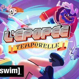 L'Epopée Temporelle : Cyprien crée une série d'animation avec Adult Swim, premières images dévoilées