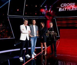 La coach Amel Bent lors d'une interview pour PRBK. Les Cross Battles annoncés par The Voice 2021, comment marche cette nouvelle étape ?