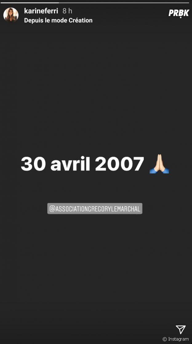 Grégory Lemarchal : Karine Ferri lui rend hommage pour l'anniversaire de sa mort