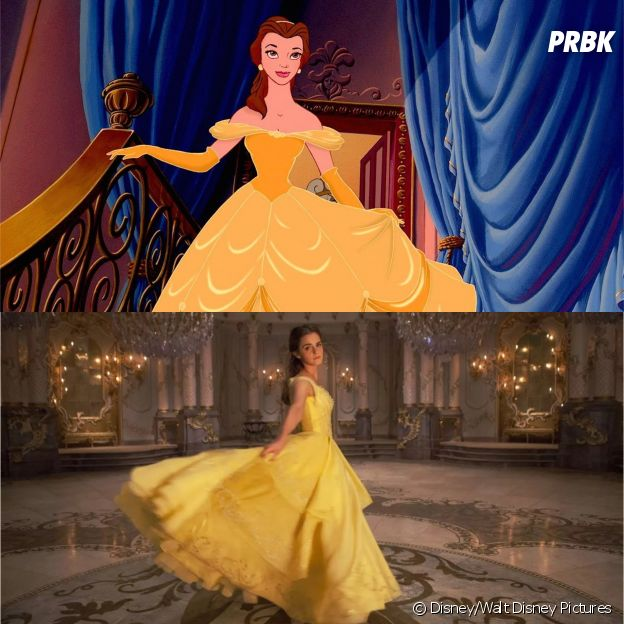 Les persos dans les Disney VS dans les live action