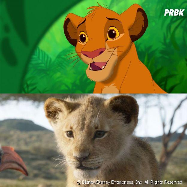 Les persos Disney dans les dessins-animés VS dans les lives-action