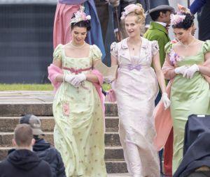La Chronique des Bridgerton : nouvelle image du tournage à Londres le 25 mai 2021