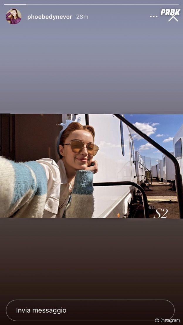 La Chronique des Bridgerton saison 2 : Phoebe Dynevor annonce son retour sur le tournage avant de supprimer la photo