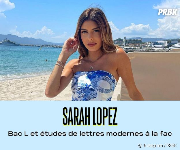Sarah Lopez a fait des études de lettres modernes