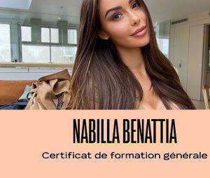 Nabilla a un certificat de formation générale