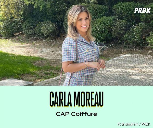 Carla Moreau a un CAP coiffure