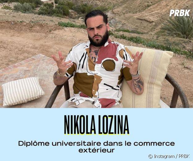 Nikola Lozina a un diplôme universitaire