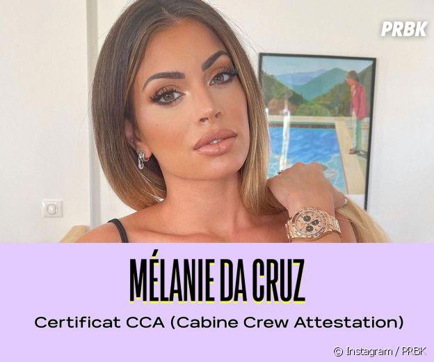 Mélanie Da Cruz a un certificat CCA