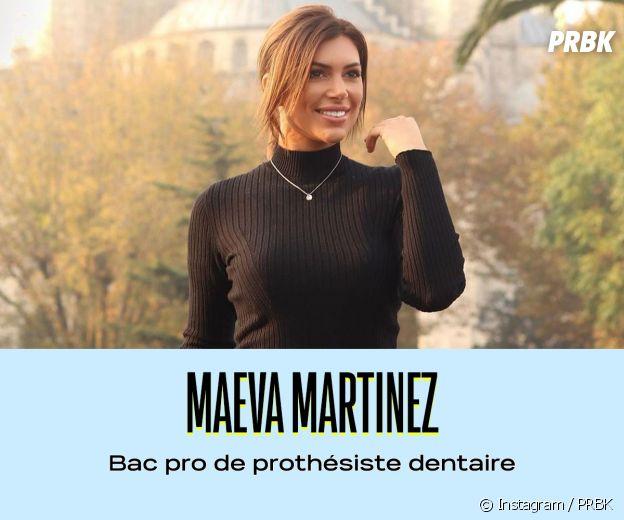 Maeva Martinez a un Bac pro