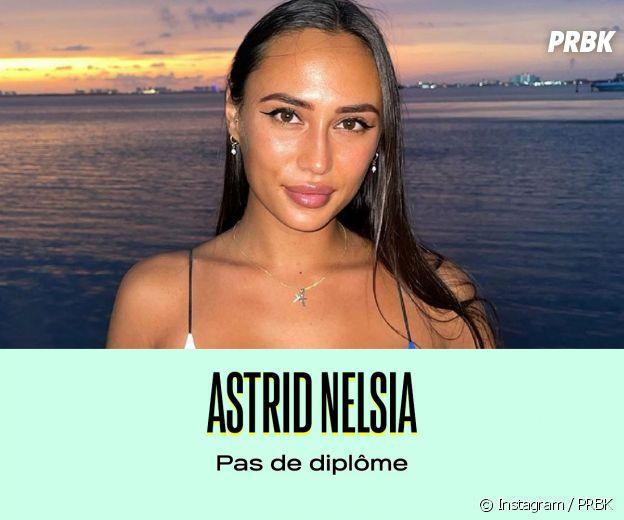 Astrid Nelsia a arrêté l'école au lycée