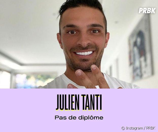 Julien Tanti n'a pas de diplôme