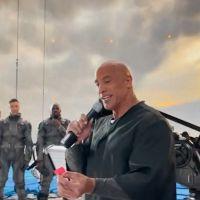 Dwayne Johnson offre 10 000 dollars à l'équipe de Black Adam pour la fin du tournage