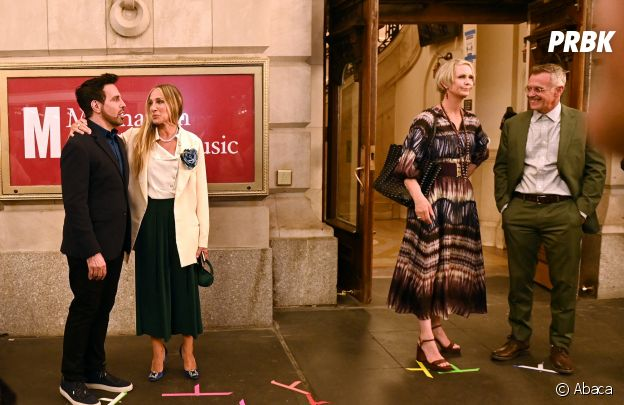 Sex and the City : des photos du tournage de la suite And Just Like That... dévoilées avec Mr Big (Chris Noth), Carrie Bradshaw (Sarah Jessica Parker)...