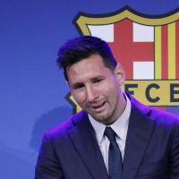 """Lionel Messi en larmes : """"Je voulais rester au Barça"""", sa conf émouvante avant son arrivée au PSG"""