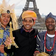 Trois Princes à Paris ... quelques images avant le début de l'aventure