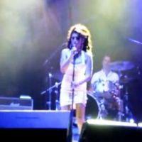 Amy Winehouse ... Regardez son retour sur scène au Brésil