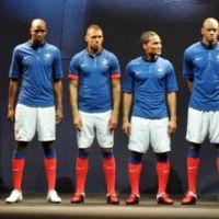 Le nouveau maillot Nike de l'équipe de France de Football ... la photo officielle