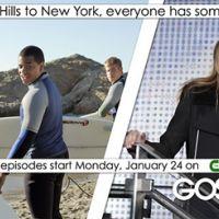 Gossip Girl et 90210 ... les deux séries font leur promo ensemble