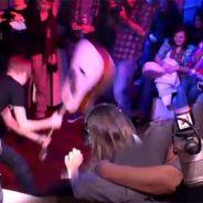 Justin Bieber ... VIDEO ... il casse une guitare chez NRJ et ''frappe'' Mustapha du 6/9