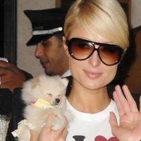 Paris Hilton ... un inconnu part avec son gateau d'anniversaire
