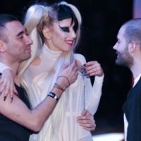 Lady Gaga ... Bourrée après le défilé de Thierry Mugler