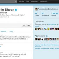 Charlie Sheen ... 1,5 million de followers sur Twitter en 3 jours (record)