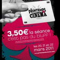 Printemps du Cinéma 2011 ... bande annonce et making-of