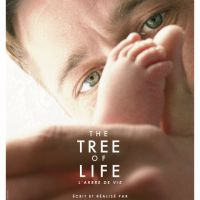 Brad Pitt et Sean Penn ... affiche officielle du film ''The Tree Of Life''