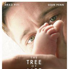Brad Pitt et Sean Penn ... affiche officielle du film ''The Tree Of Life''