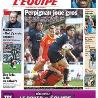 Teddy Riner arrête le judo pour le rugby ... poisson d'avril de L'Equipe