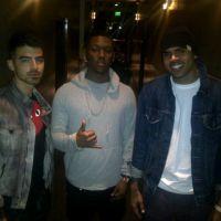 Chris Brown ... l'improbable duo avec Joe Jonas (PHOTO)