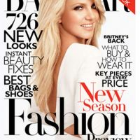 Britney Spears sexy ... en Une du mag Harper's Bazaar
