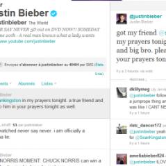 Sean Kingston et son crash ... message émouvant de Justin Bieber