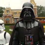 Dark Vador débarque à Disneyland ... la vidéo buzz