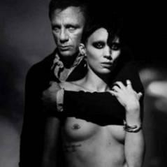 Millénium de David Fincher ... l'affiche provocante du film ... non censurée